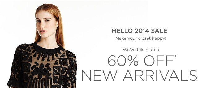 Up to 65% off New Arrivals