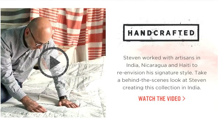 HANDCRAFTED : Watch The Video