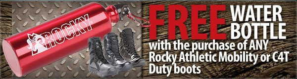 More Free Gifts with Your Rocky Boot Purchase