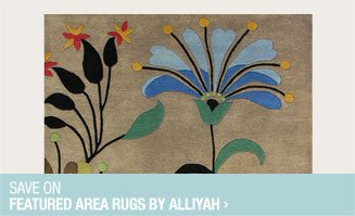 Save on Featured Area Rugs by Alliyah