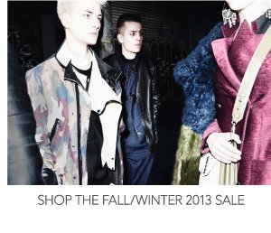 Shop the Fall/Winter 2013 Sale