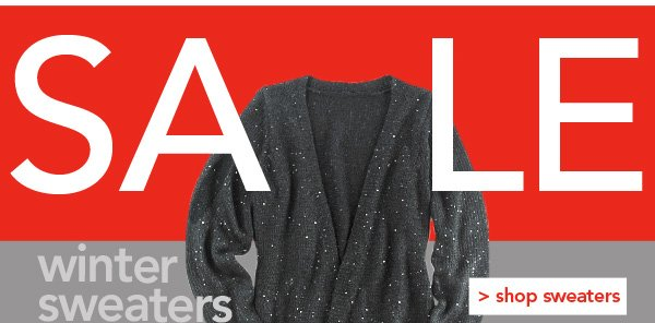 Winter Sweaters up to 60% OFF