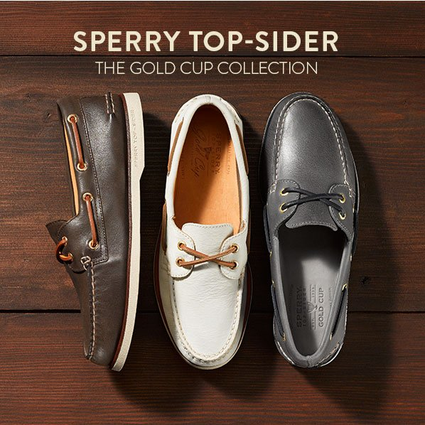 SPERRY TOP-SIDER - THE GOLD CUP COLLECTION