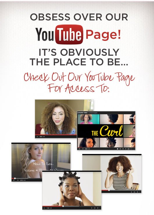 Obsess Over Our YouTube Page! It's Obviously The Place To Be
