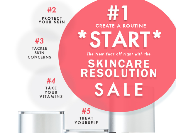 Skincare Resolutions Sale