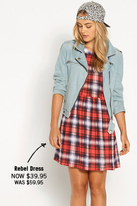 Rebel Dress Now $39.95 Was $59.95