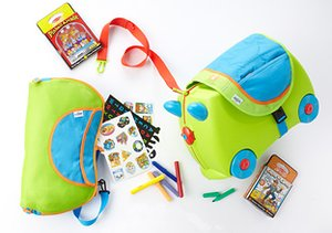 Traveling Tots: Kids' Luggage