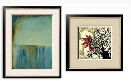 Whispering Souls I By: Erin Ashley; Coral Tapestry I By: Jennifer Goldberger