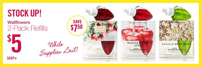 Wallflowers 2-Pack Refills – $5