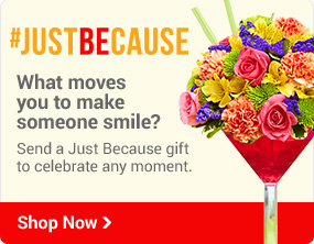 #JUSTBECAUSE What moves you to make someone smile? Shop Now