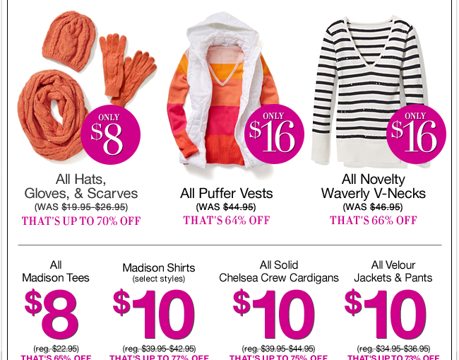 All Day Doorbusters! In Stores & Online.