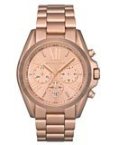 Michael Kors MK5503 Women's Rose Gold Tone SS Chronograph Watch