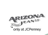 ARIZONA JEAN. co. only at JCPenney