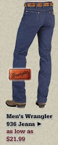 Mens Wrangler 936 Jeans on Sale