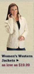 Womens Western Jackets on Sale