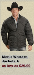 Mens Western Jackets on Sale