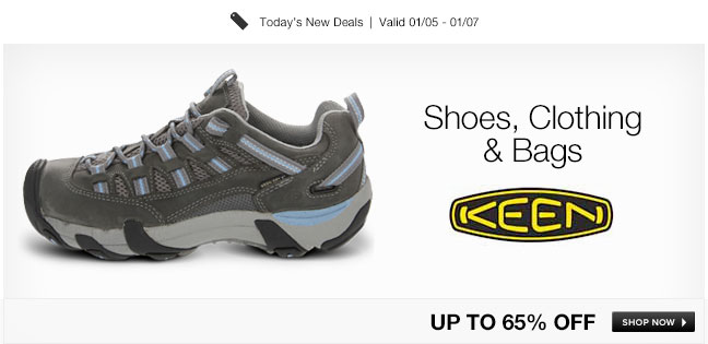 Keen Shoes, Clothing and Bags
