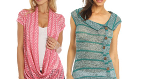 Stock Up on Knit Tops $9.99