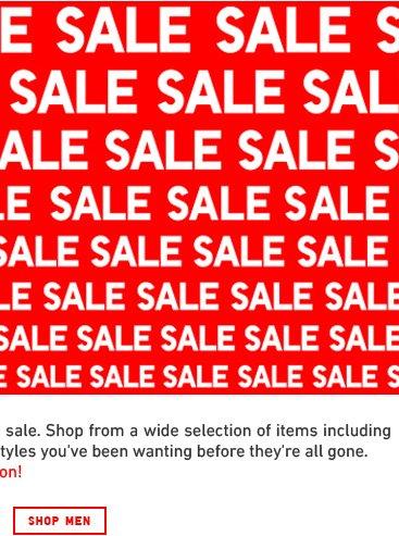Shop Men Sale