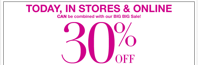 Save 30% Off Your Purchase of $50 or More!