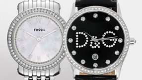 DKNY, D and G, Fossil