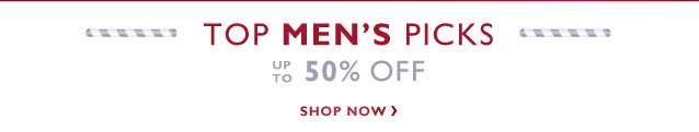 Men's sale - Up to 50% off