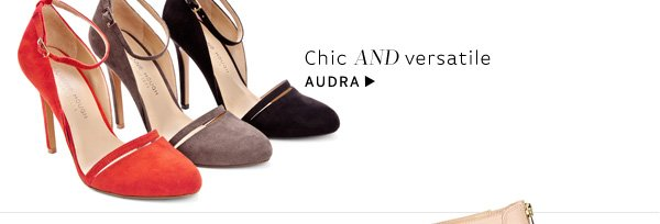 Chic and versatile. Shop Audra