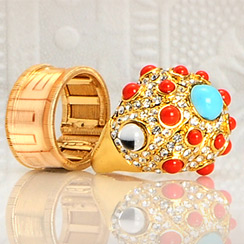 Metallic Jewelry Sale: Ed Hardy, Wildfox, Elle & more