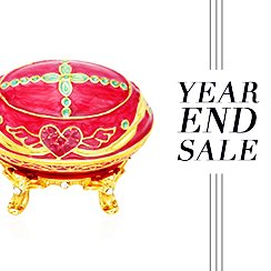 Year End Sale: Jewelry Boxes
