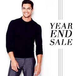 Year End Sale: Men's Apparel