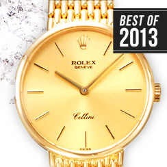Best of 2013: Luxury Gold & Diamond Watches by Piaget, Rolex & More
