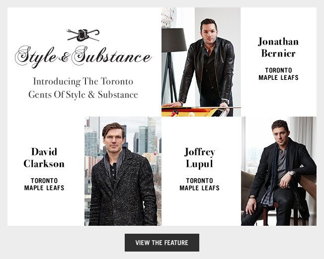 Introducing The Toronto Gents Of Style & Substance