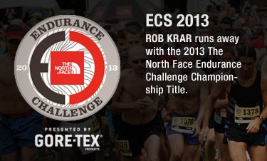 ECS 2013 - ROB KRAR runs away with the 2013 The North Face Endurance Challenge Championship Title.