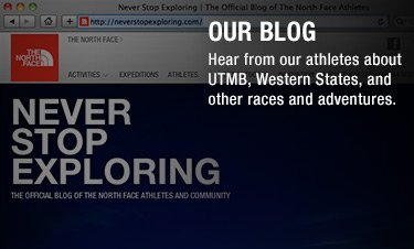 OUR BLOG - Hear from our athletes about UTMB, Western States, and other races and adventures.