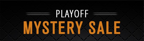 PLAYOFF MYSTERY SALE