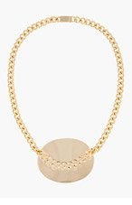 MAISON MARTIN MARGIELA Gold Chain Detail Necklace for women