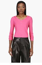 MM6 MAISON MARTIN MARGIELA Pink Dolly Sweater for women