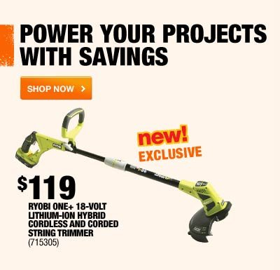 POWER YOUR PROJECTS WITH SAVINGS