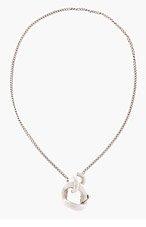 MAISON MARTIN MARGIELA Silver Curb Chain Necklace for men