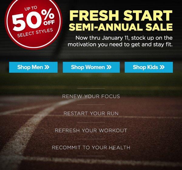Fresh Start Semi-Annual Sale