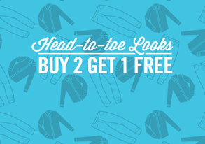 Shop Buy 2 Get 1 Free: Head-to-Toe Looks