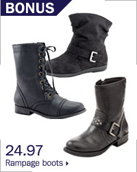 24.97 Rampage boots.