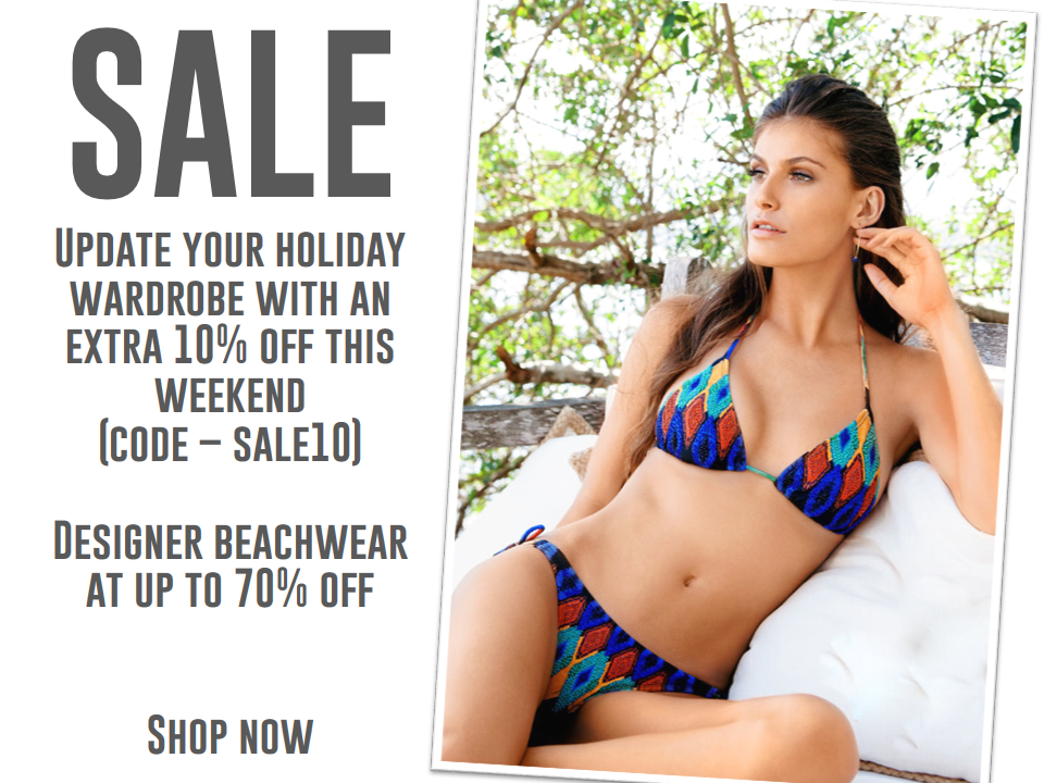 Shop the Beach Cafe SALE - Extra 10% off this weekend!