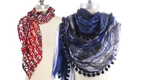 Designer Scarves by Pucci, Dior, Chanel