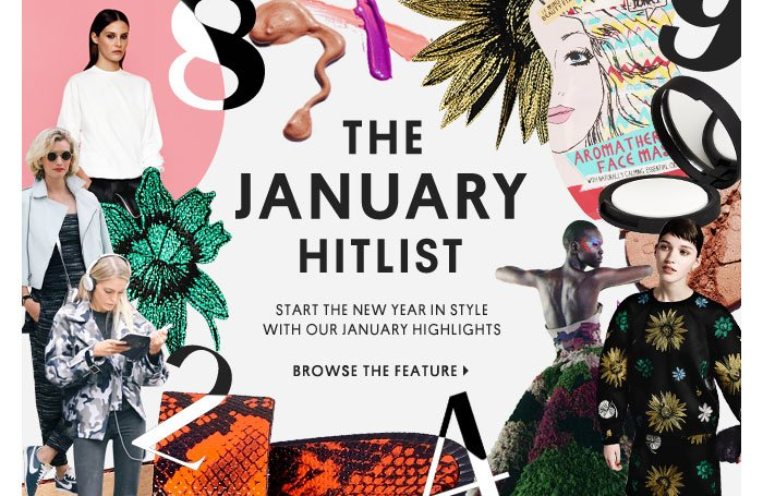 THE JANUARY HITLIST - BROWSE THE FEATURE
