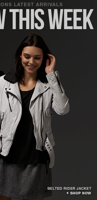 belted rider jacket
