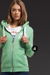 track & field zip hoodie