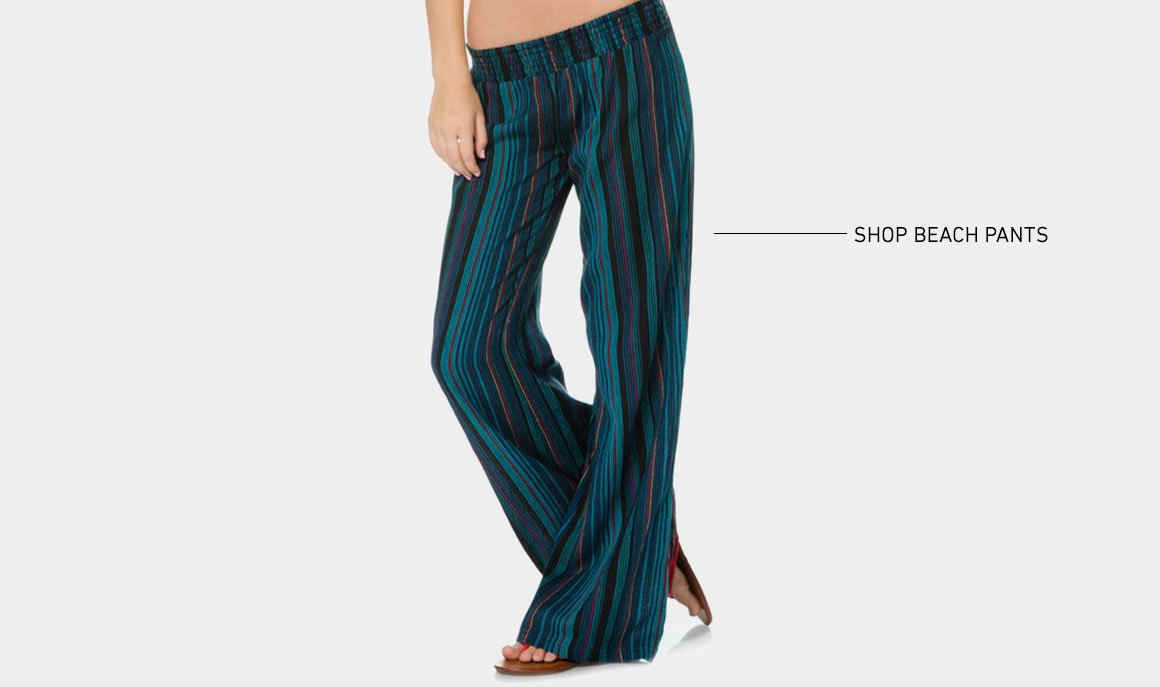 Beach Days: New Beach Pants