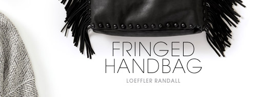 4. FRINGED HANDBAG