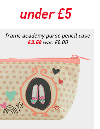 frame academy purse pencil case